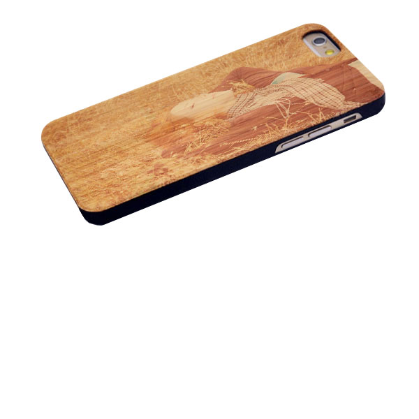 Personalised iPhone 6s wooden case