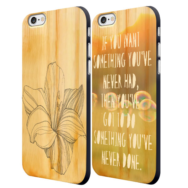 Make your own iPhone 6 wooden case