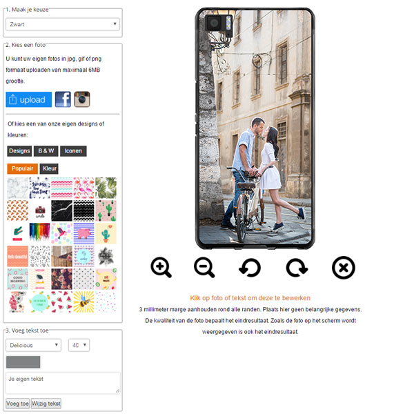 Make your own BQ Aquaris M5 case