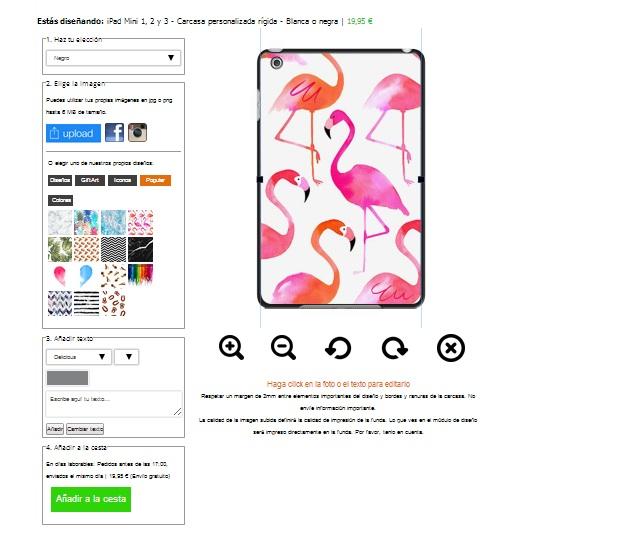 design your own ipad mini hard case