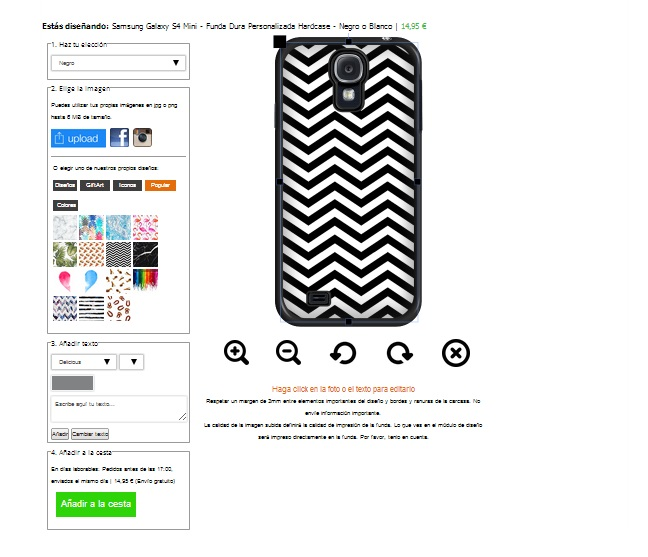 Design your own samsung Galaxy S4 mini case