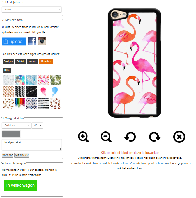 personalised Apple iPod touch 6 case