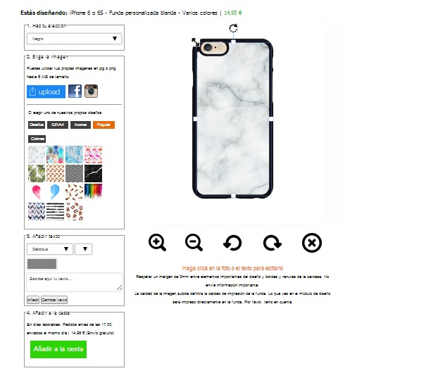 design your own iPhone 6S case