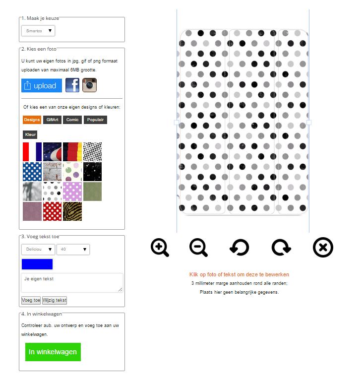 personalised iPad mini 4 Smart cover