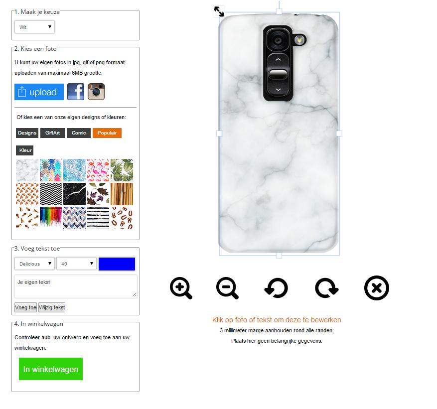 Make your own LG G2 mini Phone case
