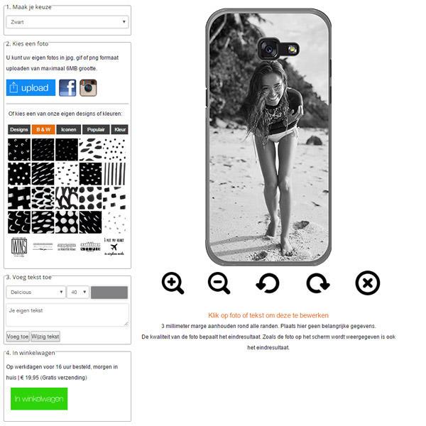 Make your own Samsung Galaxy A5 2017 case