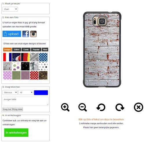 personalised Samsung Galaxy Alpha hard case