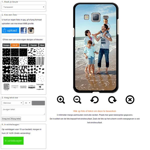 Make your own Samsung Galaxy J3 case