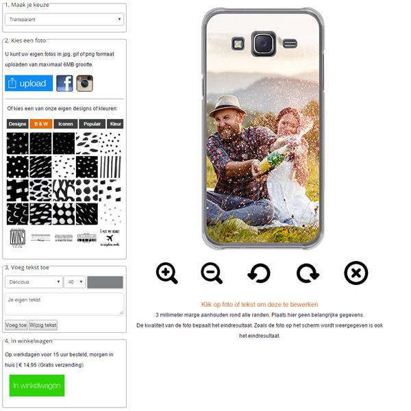 Make your own Samsung Galaxy J5 case