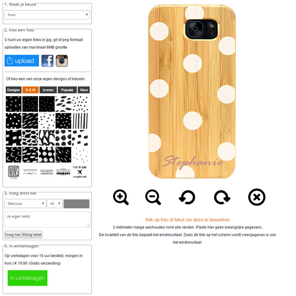 personalised phone cases for Galaxy S7 Edge