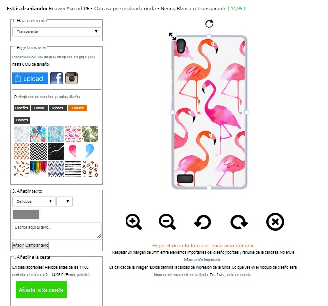 Design your own Huawei Ascend P6 hard case
