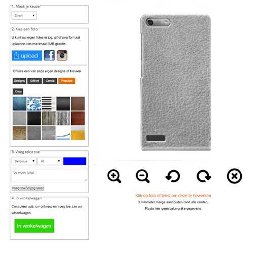 Design your own Honor 6 phone case