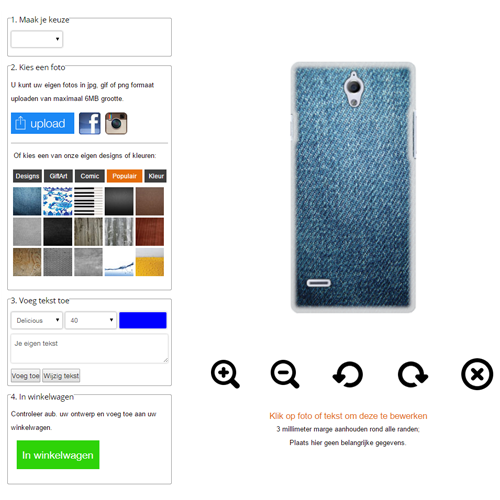 Personalised Huawei AScend G700 case