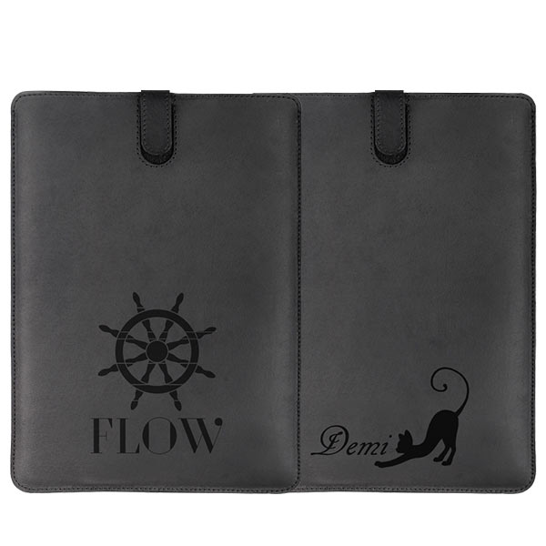 Personalised iPad air leather case