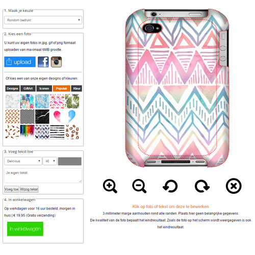 Design your own iPhone 4s case
