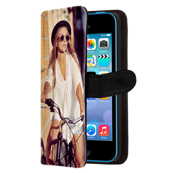 personalised iPhone 5C wallet case