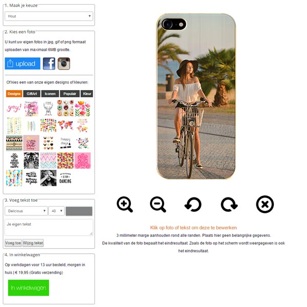 personalised phone cases for iPhone 7