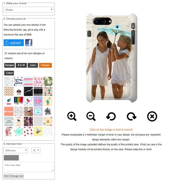 IPhone 8 around printed case
