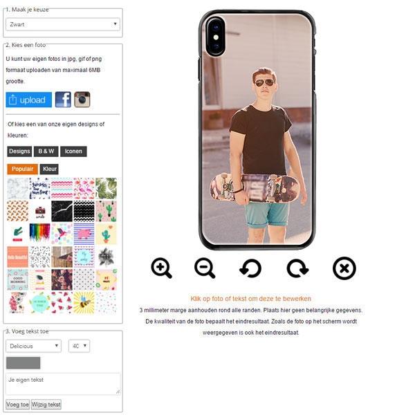 Personalised iPhone 8 phone case