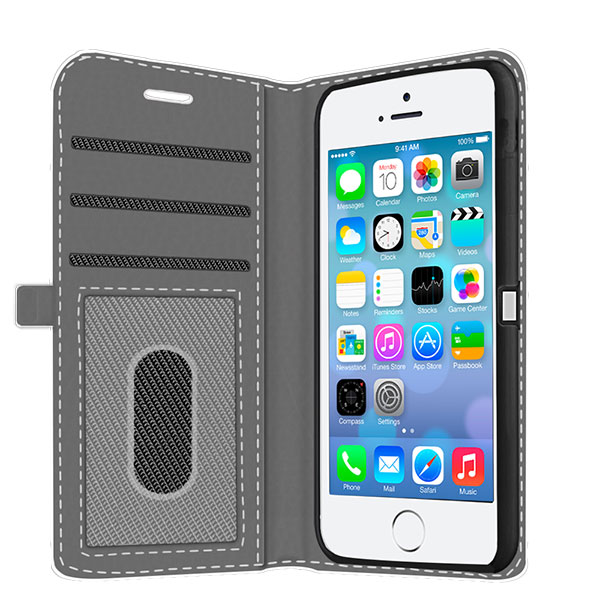 Make your own iPhone 5 wallet case