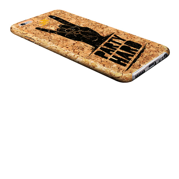 Personalised iPhone 6s cork case