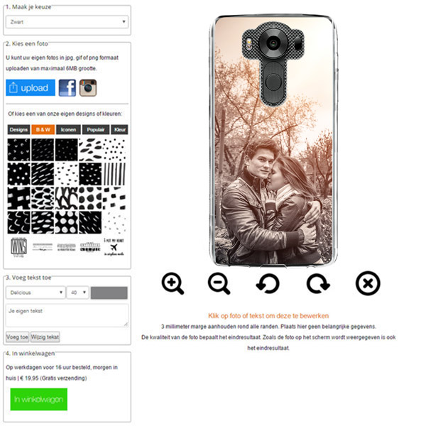 Make your own LG K10 Phone case