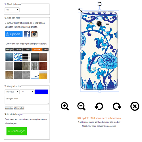 Create your own Samsung Galaxy core 2 case