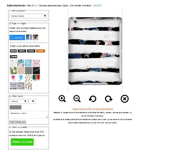 Make your own iPad air case