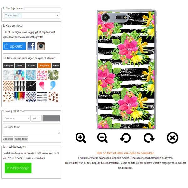 Xperia XZ Premium Case with Photo
