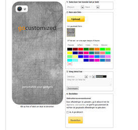 Personalised Samsung Galaxy Note 4 phone case